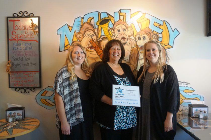 Jocelyn Lill and Monkey Business Staff